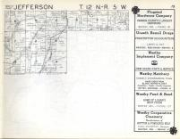 Jefferson, Sterling, Franklin T12N-R5W, Vernon County 1960